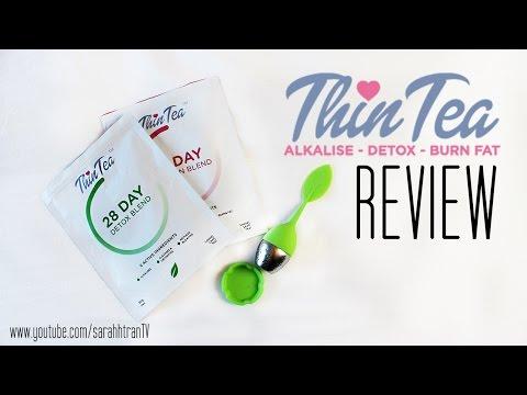 REVIEW | Thin Tea Detox & Fat Burn Blend (with photos)
