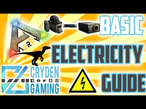 Let There Be Light! - Ark Survival Evolved Guide - Electricity!