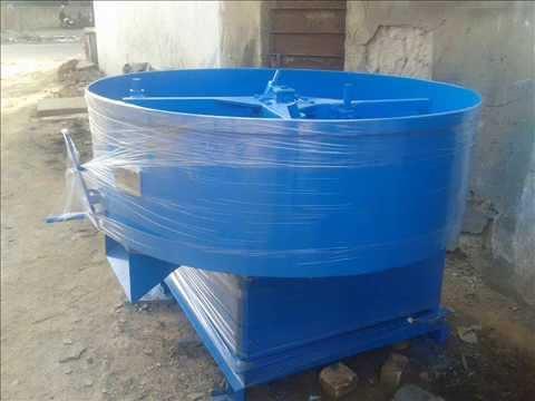 Concrete Pan Mixer 500 KG