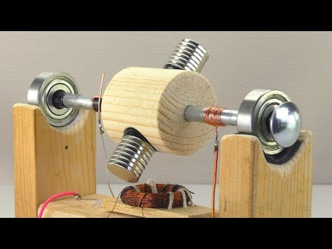 Simple MOTOR and Magnetic Transmission
