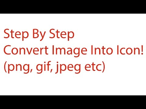 How To Convert Any Image Format To An Icon
