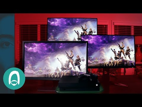 The BEST 4k Gaming Monitors for Consoles, Xbox One X and PC