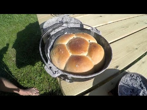 An easy way to cook a damper