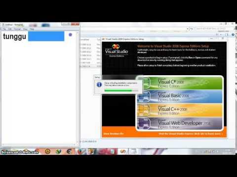 Cara Menginstall Visual Studio 2008