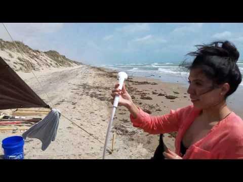 Padre Island National Seashore camping trip.