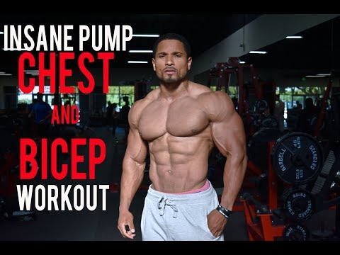 THE PUMP- CHEST AND BICEP WORKOUT