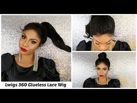 Styling the BEST MOST NATURAL LOOKING 360 Lace Wig Ft. Lwigs