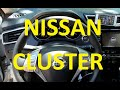 How to remove Cluster on 13-20 Nissan Rogue Qashqai speedometer 2016 2015 2017