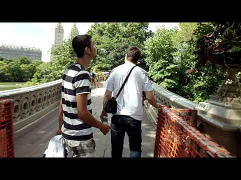 Central Park New York City , Proposal Bridge, Boathouse ,