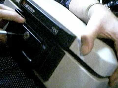 JIGGING INTO SENTRY 1100 LOCK BOX WITH LOCK PICK