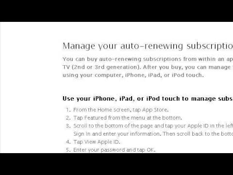 How-To Cancel Your Itunes Payment