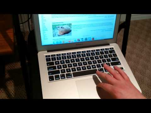 Change Macbook Air Scrolling Direction from Natural Scrolling
