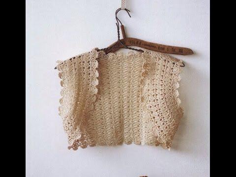 crochet shrug| how to crochet vest shrug free pattern tutorial for beginners 25