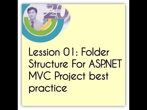 Lession 01: Folder Structure For ASP.NET MVC Project best practice