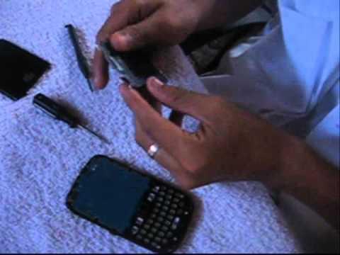 Cambio de Pantalla a un Blackberry Curve 8520