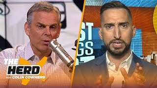 Nick Wright talks Russell Wilson being best QB in NFC, Rams struggles with Gurley | NFL | THE HERD
