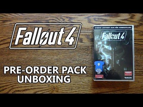 Fallout 4 German Pre Order Bonus Pack Unboxing & Review - HD 1080p