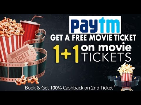 How to Book free ticket,Cashback,Discount on PayTm Movie Tickets Full Cashback Offers