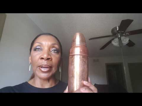 The Benefits of Drinking from a Copper Water Bottle