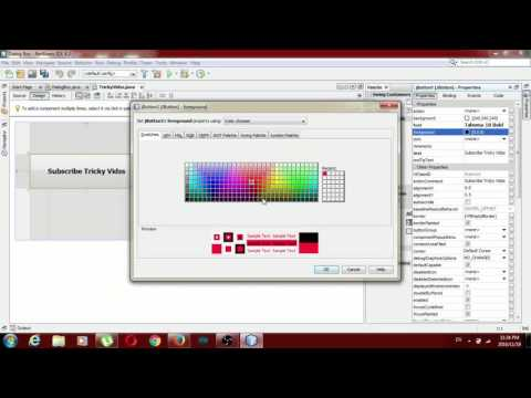Netbeans Basics (1Video) (Display message in dialog Box)Check Discription Step by Step Process!