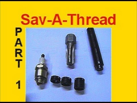 Toro Spark Plug Thread Repair with Sav-A-Thread by Heli-Coil: PART 1