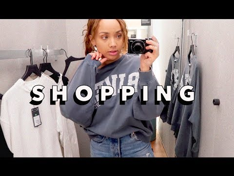 COME SHOPPING WITH ME, H&M HOME HAUL & SEASIDE TRIP