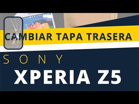 CAMBIAR TAPA TRASERA SONY XPERIA Z5