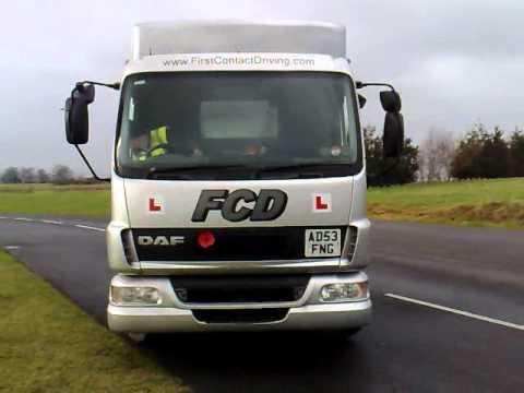 C1 Training Exeter - 7.5 Tonne Driver Training Devon - LGV Reversing Exercise