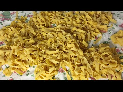 Make your roast duck go further with pappardelle!   Pasta Grannies Diaries