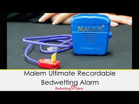 Bedwetting Store - Malem Ultimate Recordable Bedwetting Alarm
