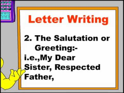 letter writing-rules of letter writing-english grammar-grammar-learn english-learn grammar