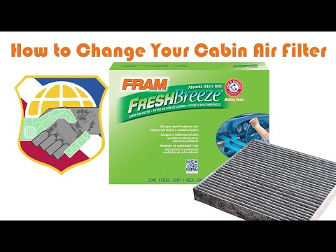 How to Change Your Cabin Air Filter - 2009 to 2013 Honda Pilot ridgeline odyssey