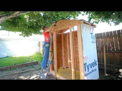DIY Lawn & Garden Storage Shed: Part 1 | Darbin Orvar