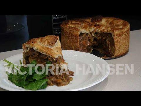 Beef & Guinness High Pie