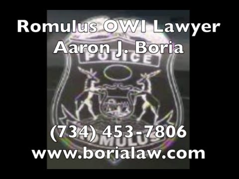 Romulus Lawyer  - Romulus OWI - 34th District Court