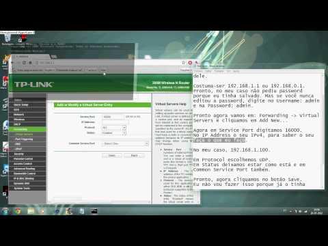 Como Configurar TP-Link para o GameRanger