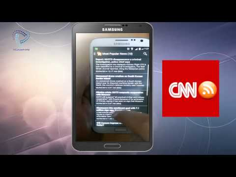 CNN Rss World News On Android