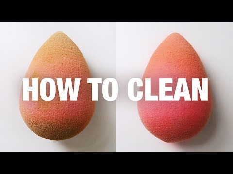 HOW TO CLEAN A BEAUTYBLENDER + OTHER MAKEUP SPONGES
