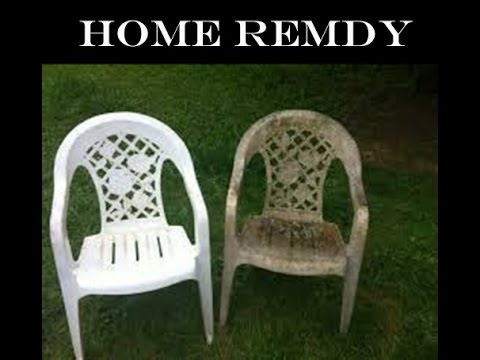 HOW TO CLEAN PLASTIC CHAIR - JUGAAD