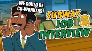 Subway Job Interview Prank