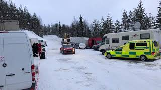 Kris Meeke / Paul Nagle PET Day 2 For Rally Sweden 2018