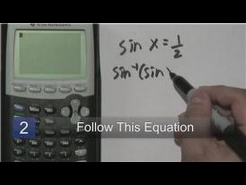 Mathematics : How to Calculate an Angle With Trig