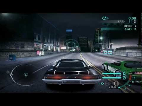 NFS Carbon all bosses defeated full car races (Sped up)