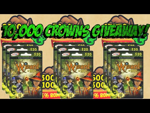 Wizard101: 10,000 Crowns Giveaway!