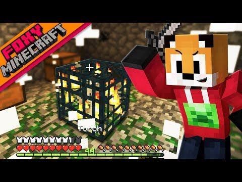 Minecraft | SKELETON SPAWNER XP FARM | Foxy's Bedrock Survival [29]