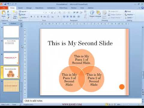Deleting Slides Power Point  Video Tutorials in Hindi  - WWW.LSOIT.COM