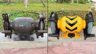 Old Grinder Restoration step by step
