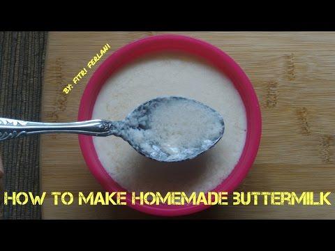 Tips  How To Make Homemade Buttermilk | Cara Membuat Buttermilk #FitriFerlani