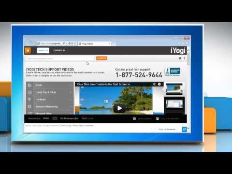 How to remove a search provider from Internet Explorer® 10 Preview on a Windows® 7 PC