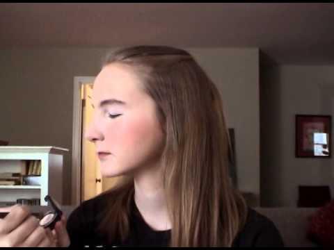 Jock and brainiac stage makeup